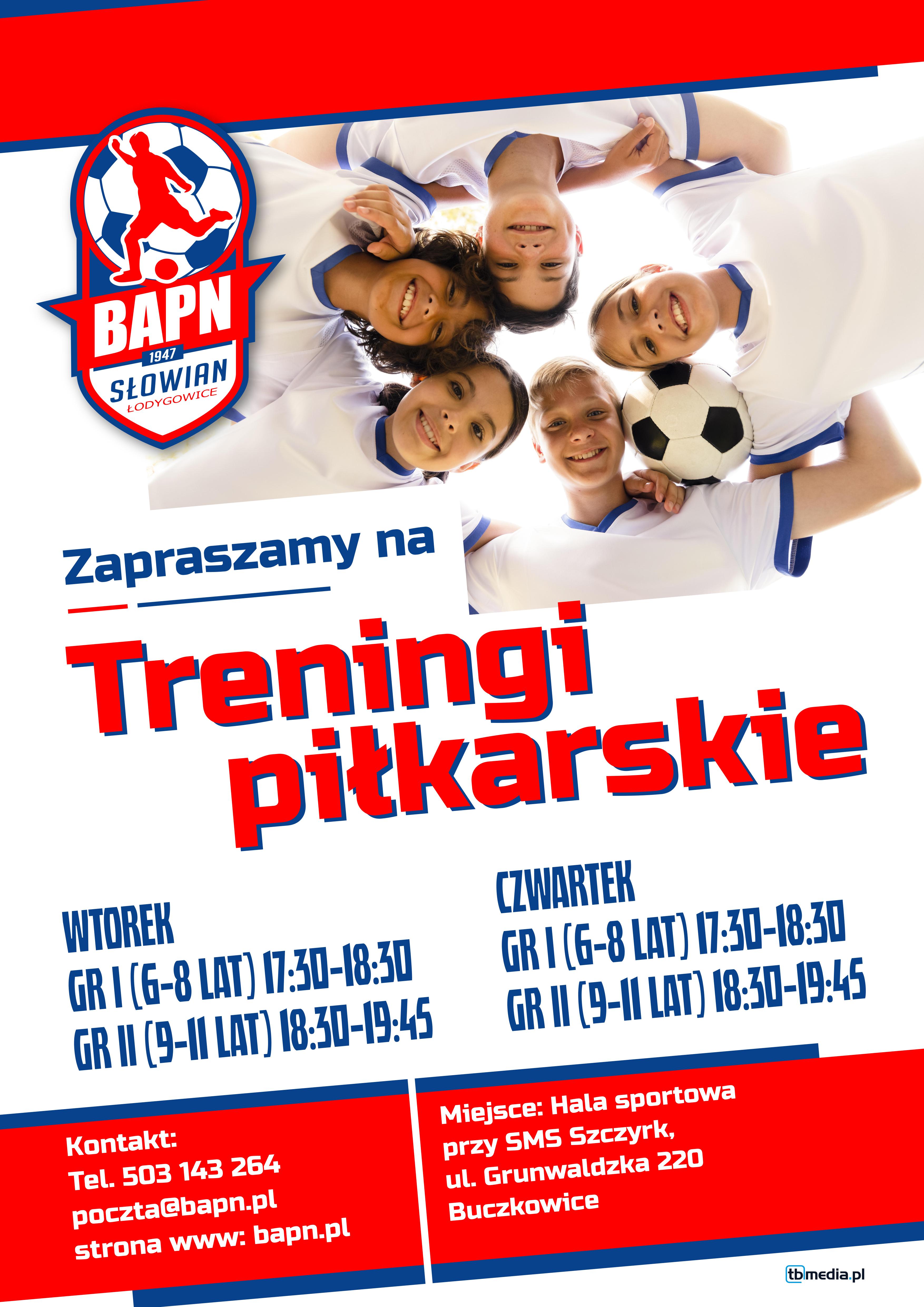 Beskidzka Akademia Piłki Nożnej - informacja o zapisach dzieci na treningi 2021/2022